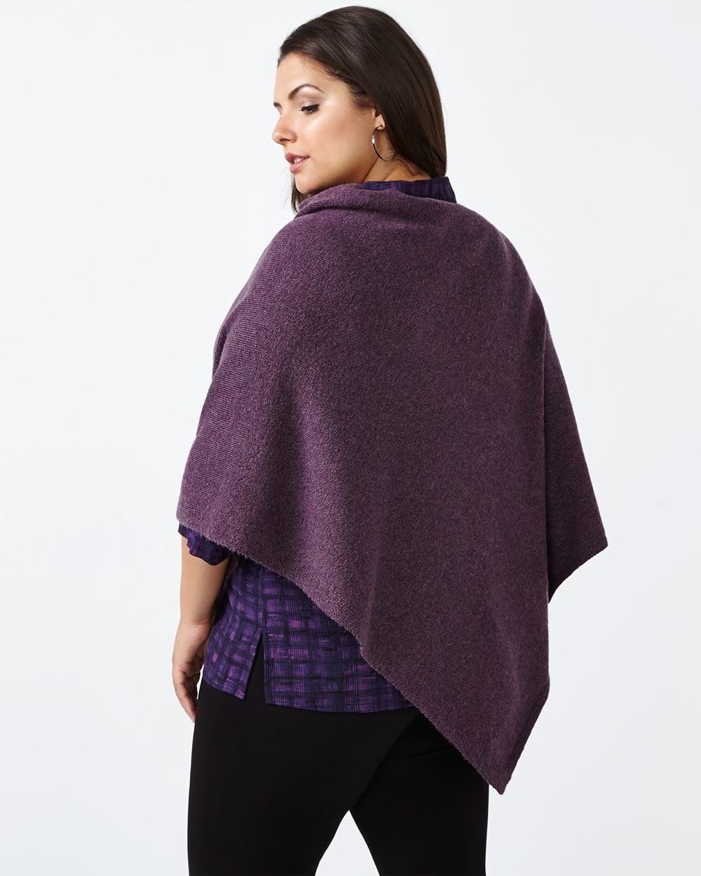 Knit Sweater Poncho
