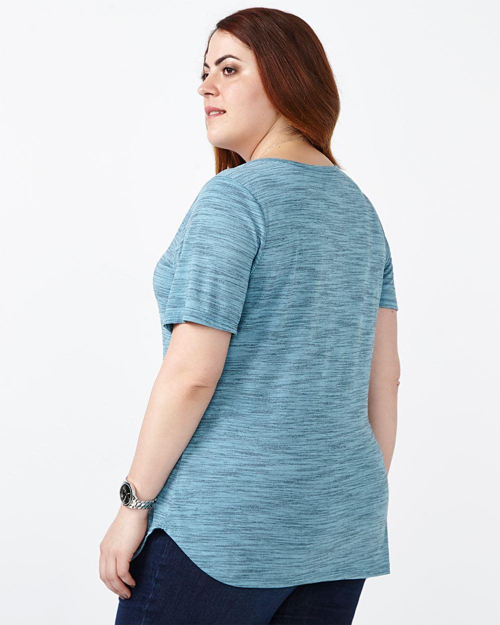 Curve Fit Basic T-Shirt