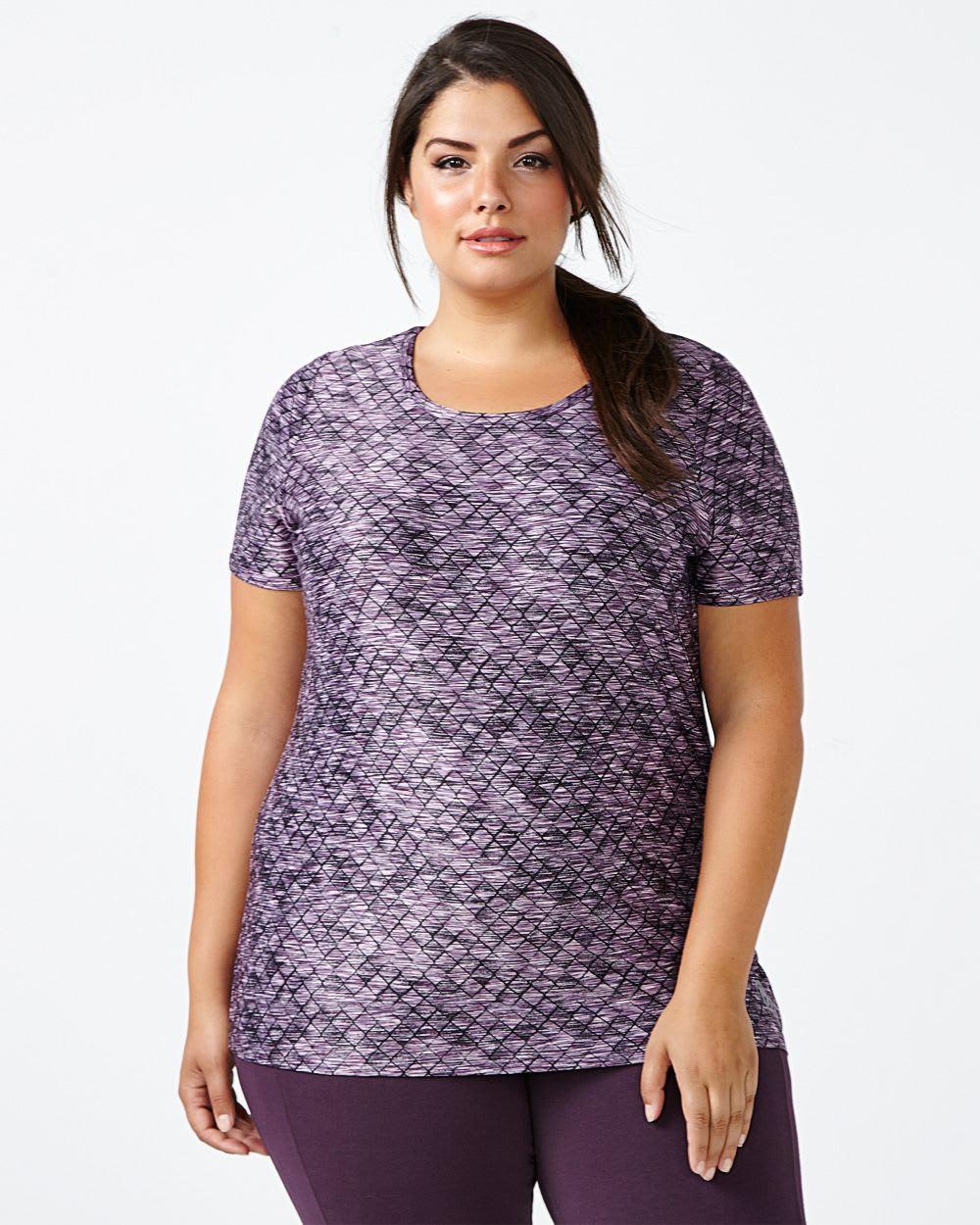 Essentials - Plus-Size Printed T-Shirt