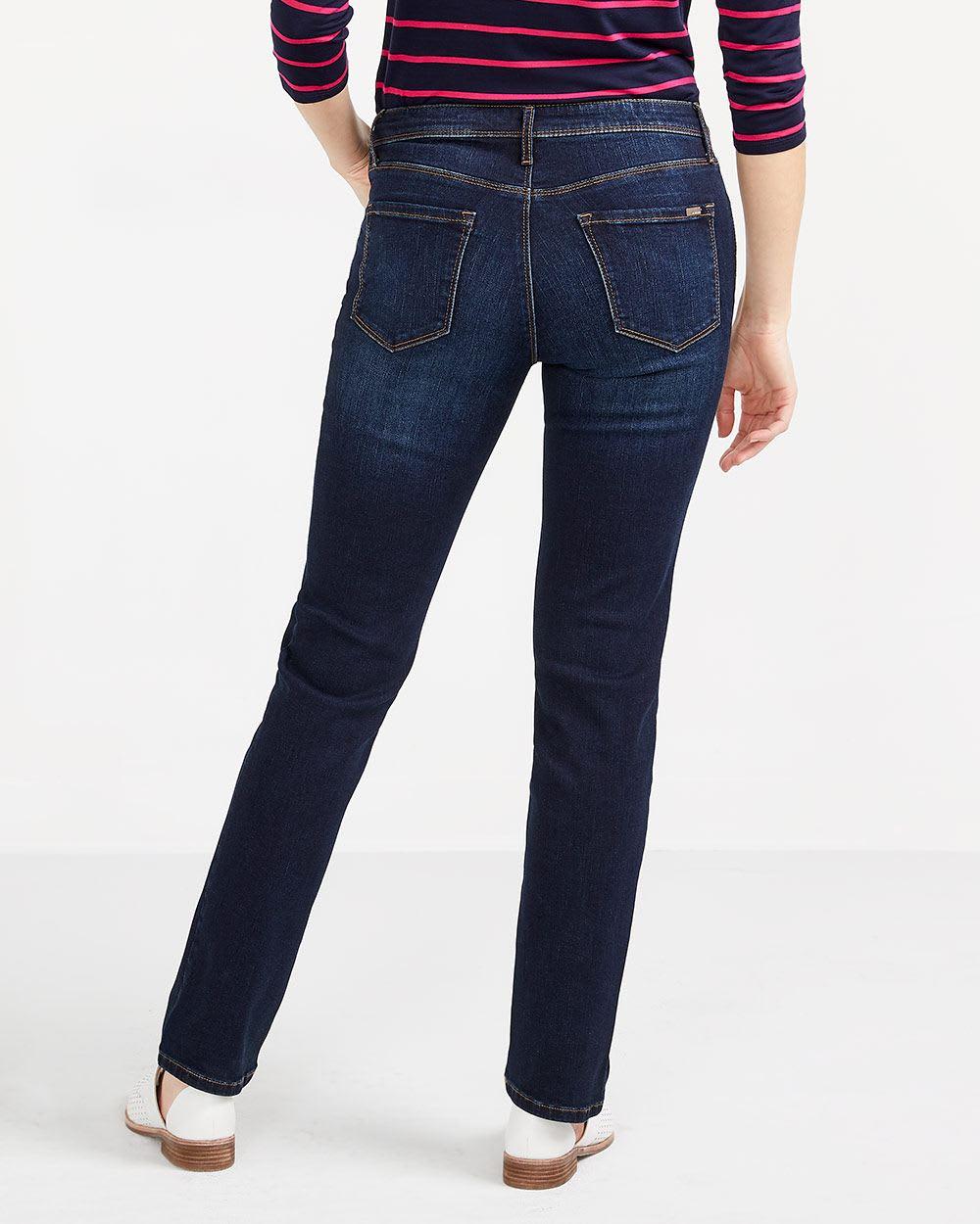 The Insider Dark Wash Straight Leg Jeans
