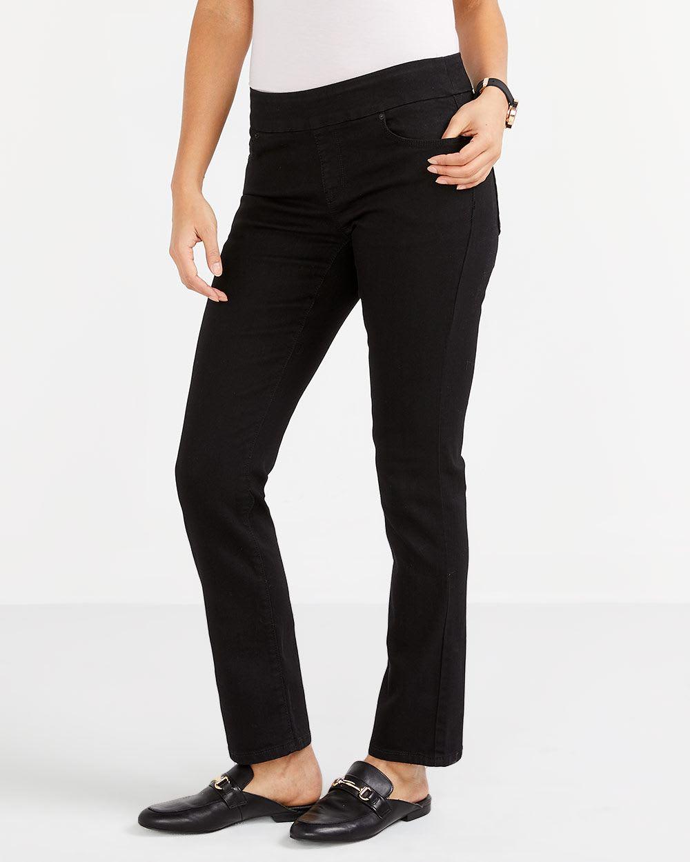 The Petite Original Comfort Black Jeans