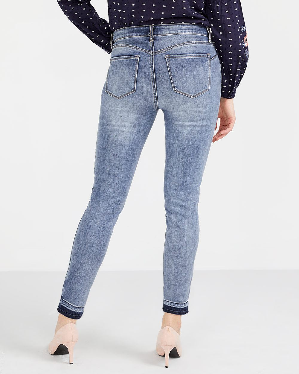 The Petite Released Hem Sculpting Ankle Jeans