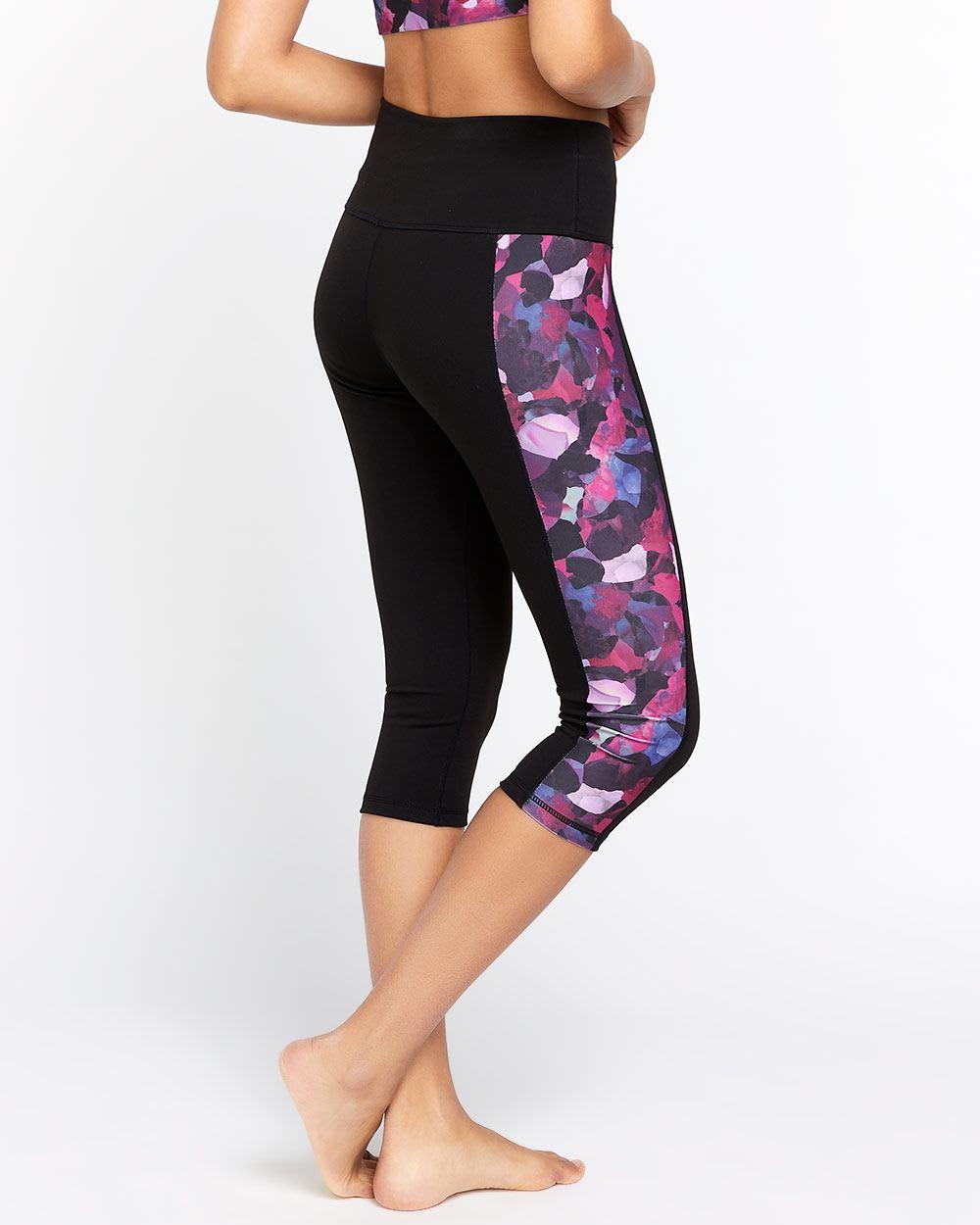 Hyba Printed Capri Legging
