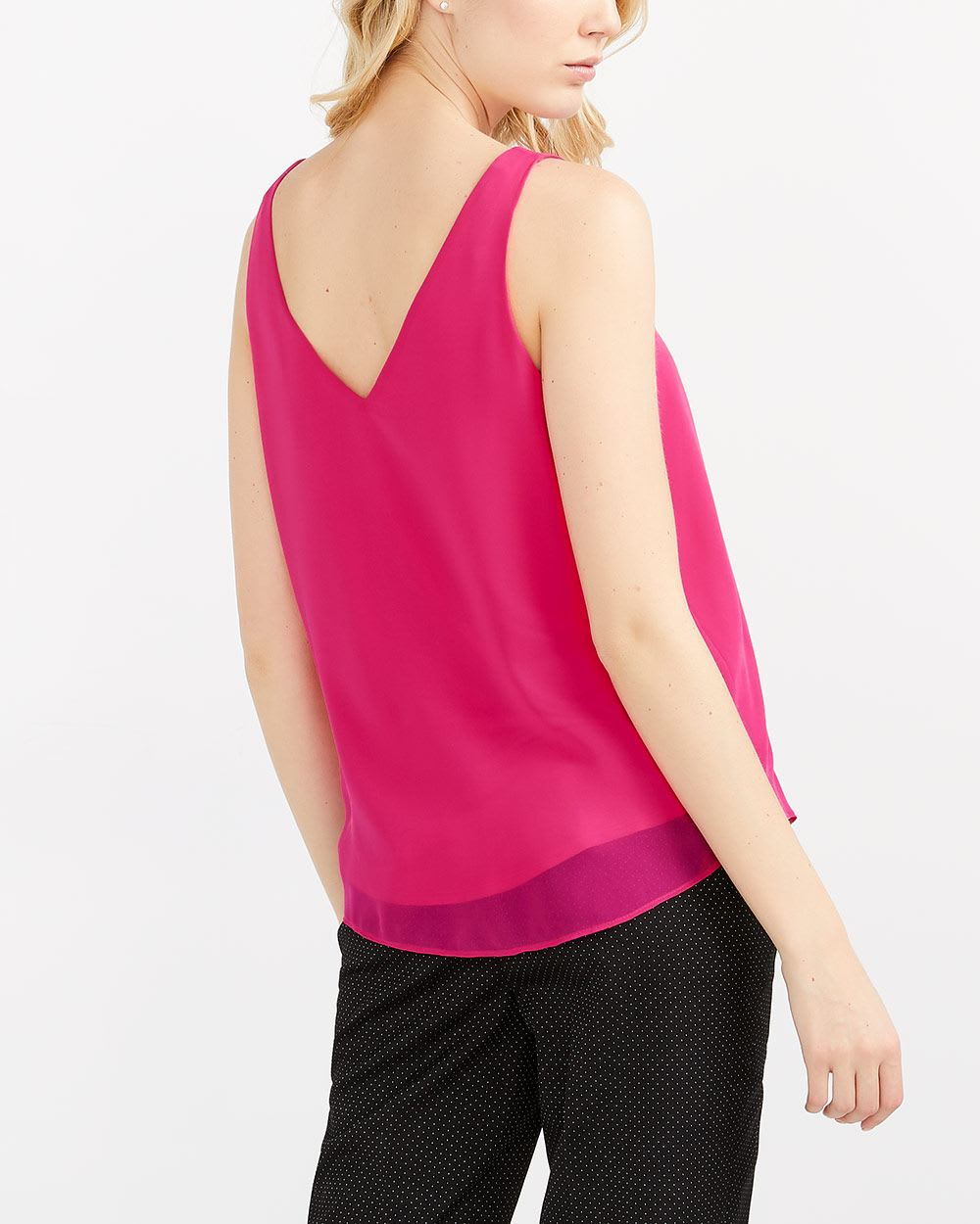 Willow & Thread Pleated Neck Cami