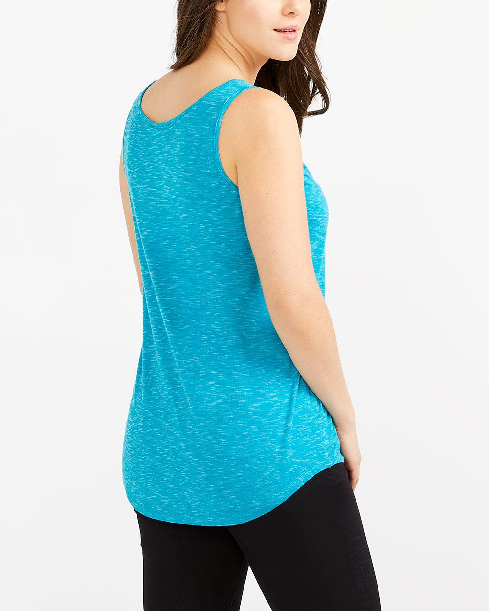 Solid Sleeveless Top