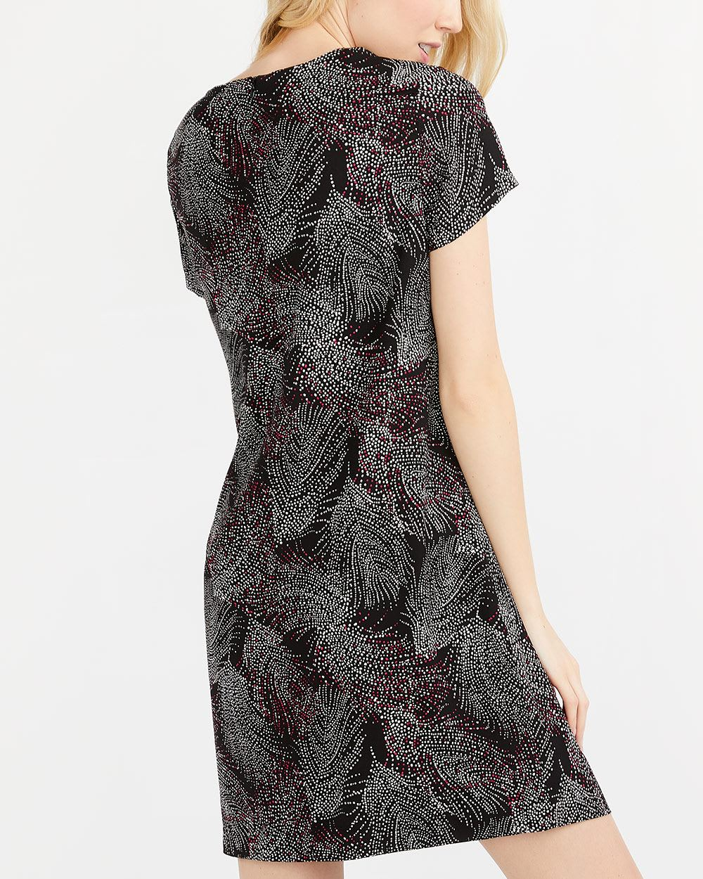 Willow & Thread Printed Shift Dress