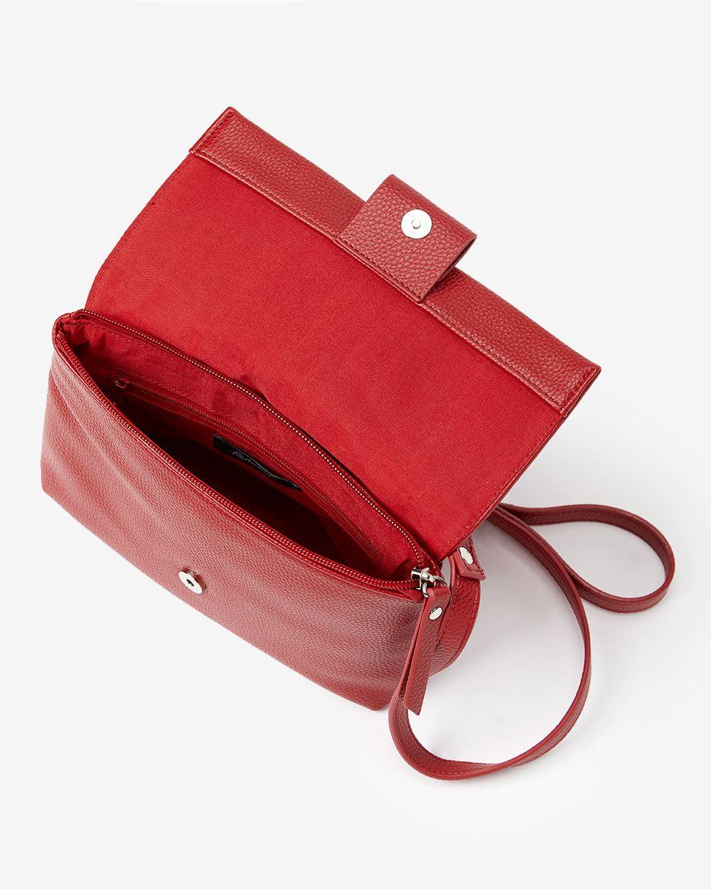 Crossbody Solid Handbag