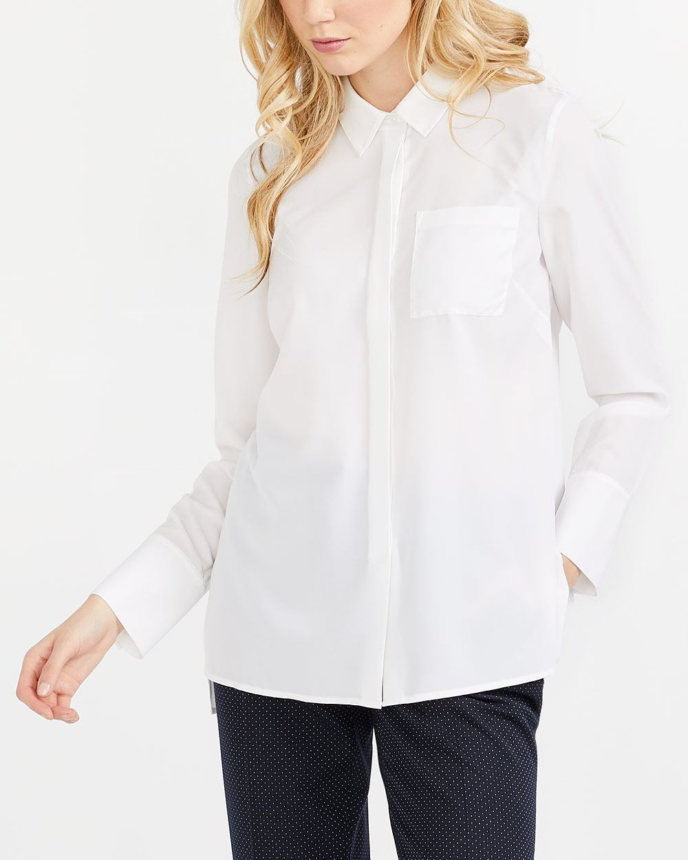 Willow & Thread Stretch Solid Shirt