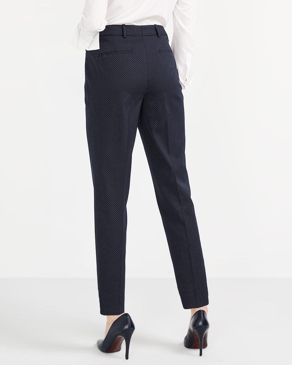 Pantalon de tailleur à pois Willow & Thread