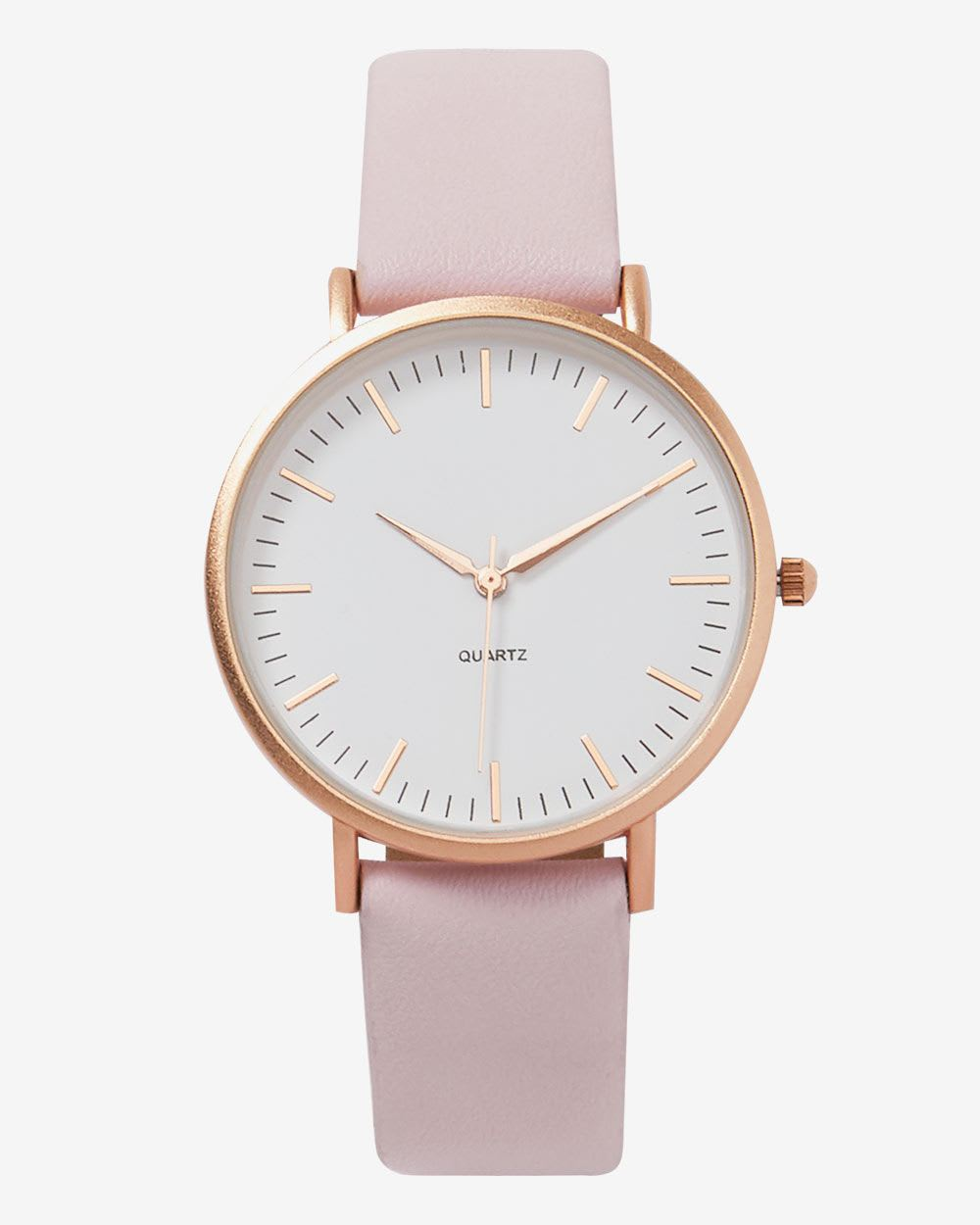 Pink & Gold Wristwatch