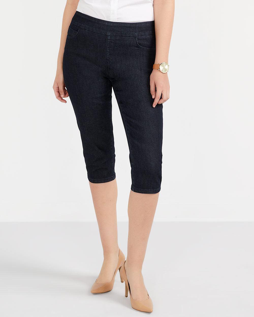 Capri en jeans L'Authentique Confort Petite