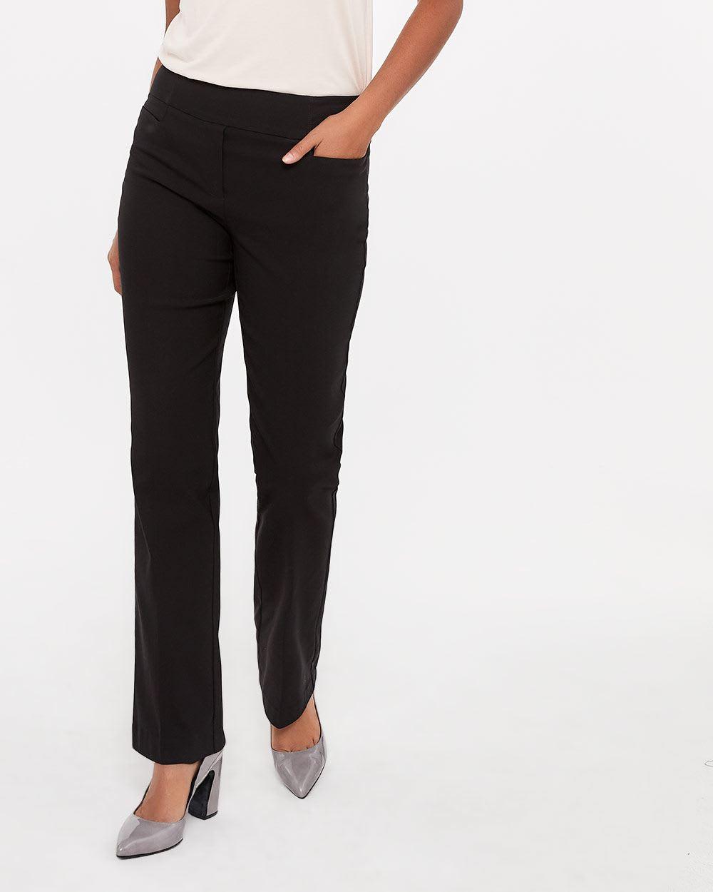 Pantalon à jambe évasée L'Iconique