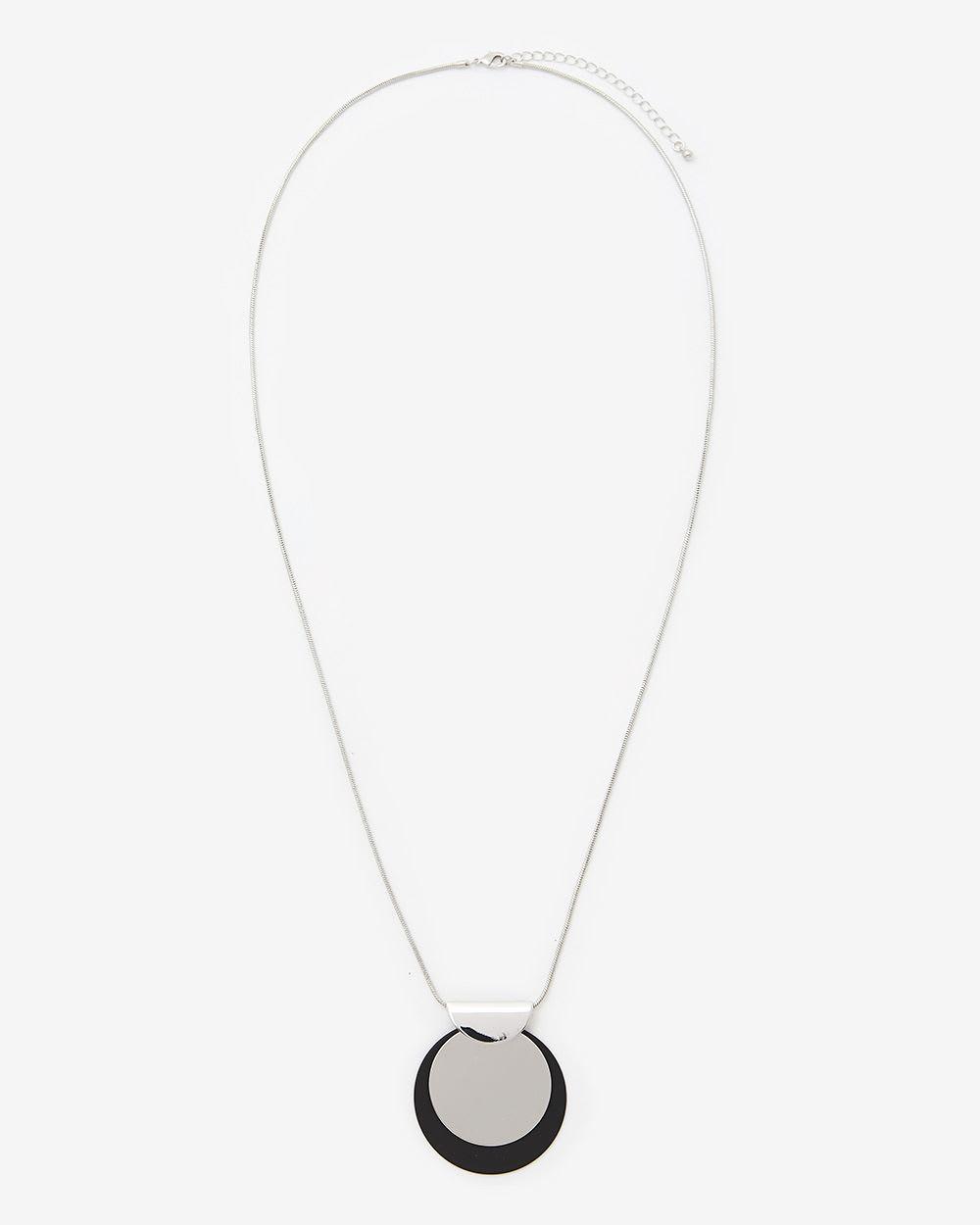 Collier à pendentif surdimensionné
