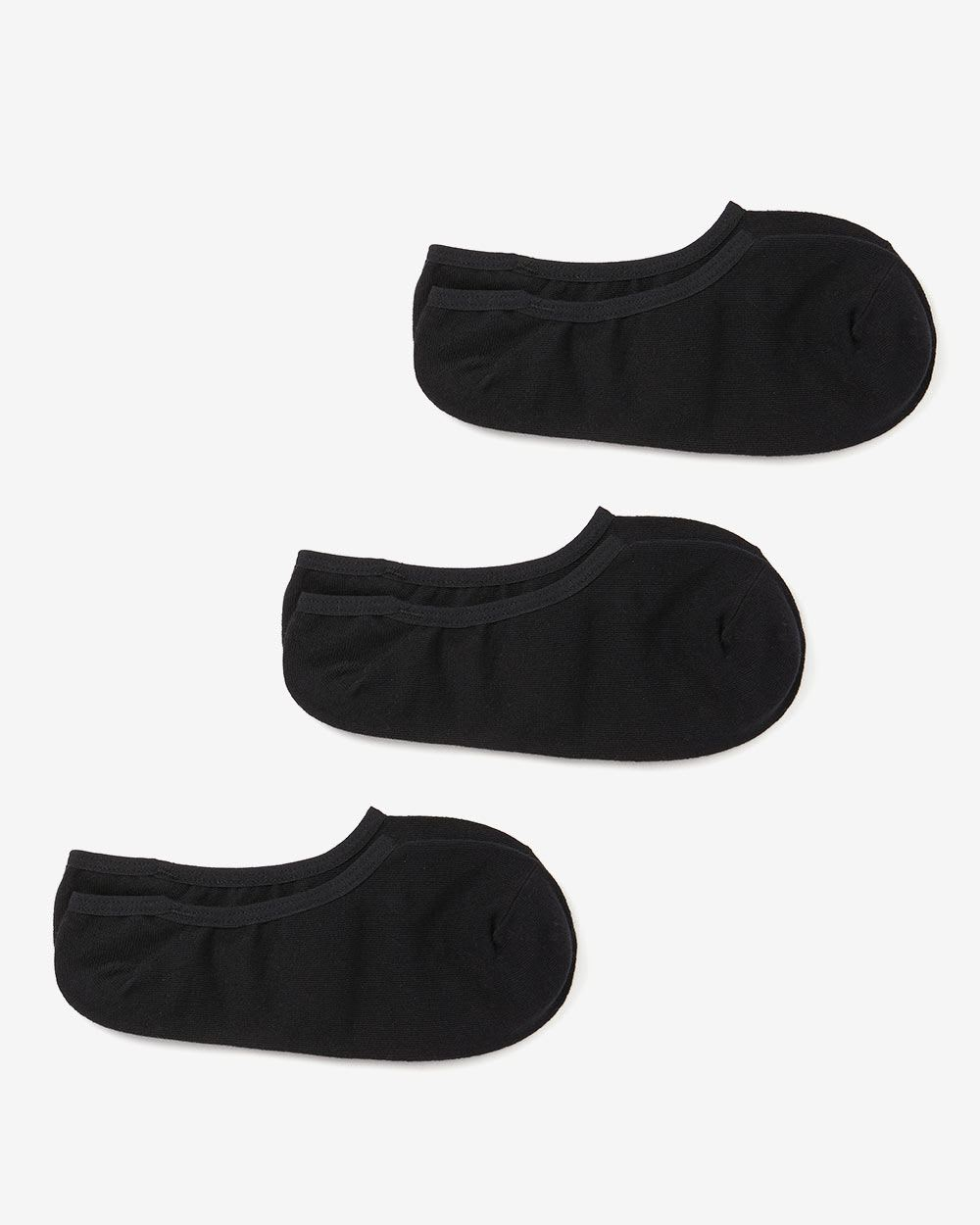 Set of 3 Pairs of No-Show Socks