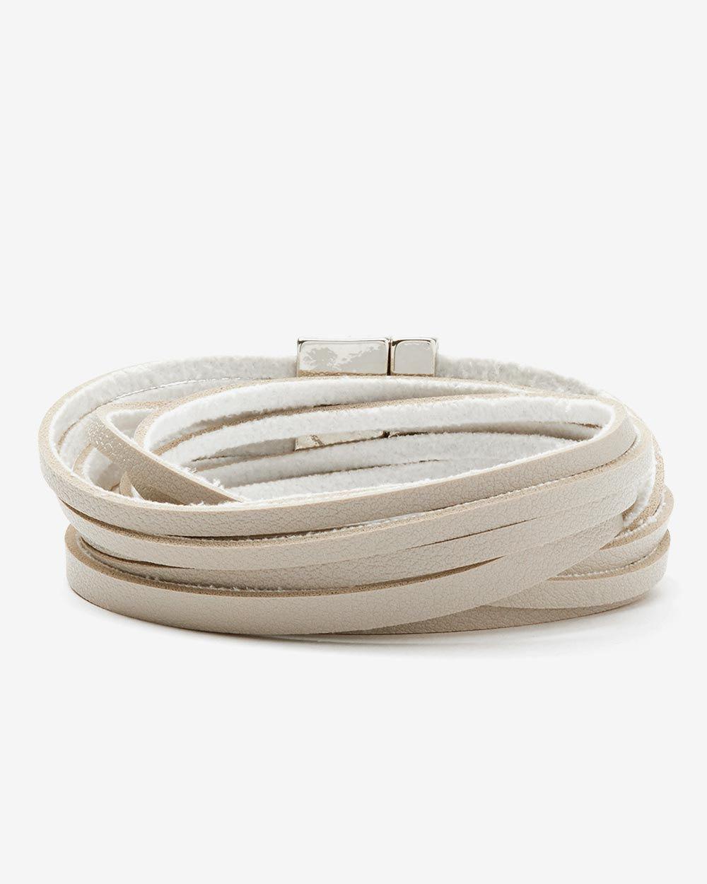 PU Wrap Around Bracelet