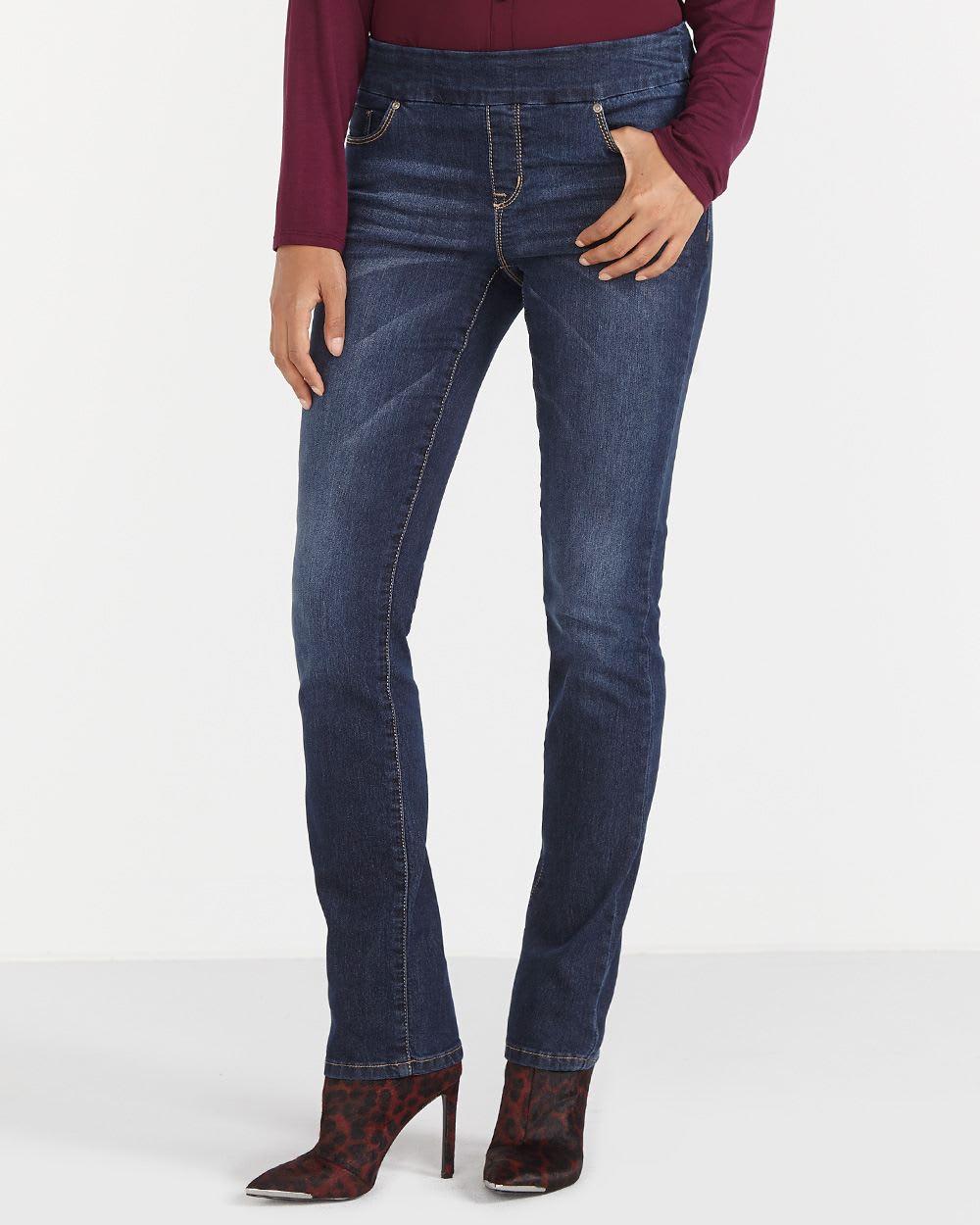 Ultra Petite Original Comfort Straight Leg Jeans