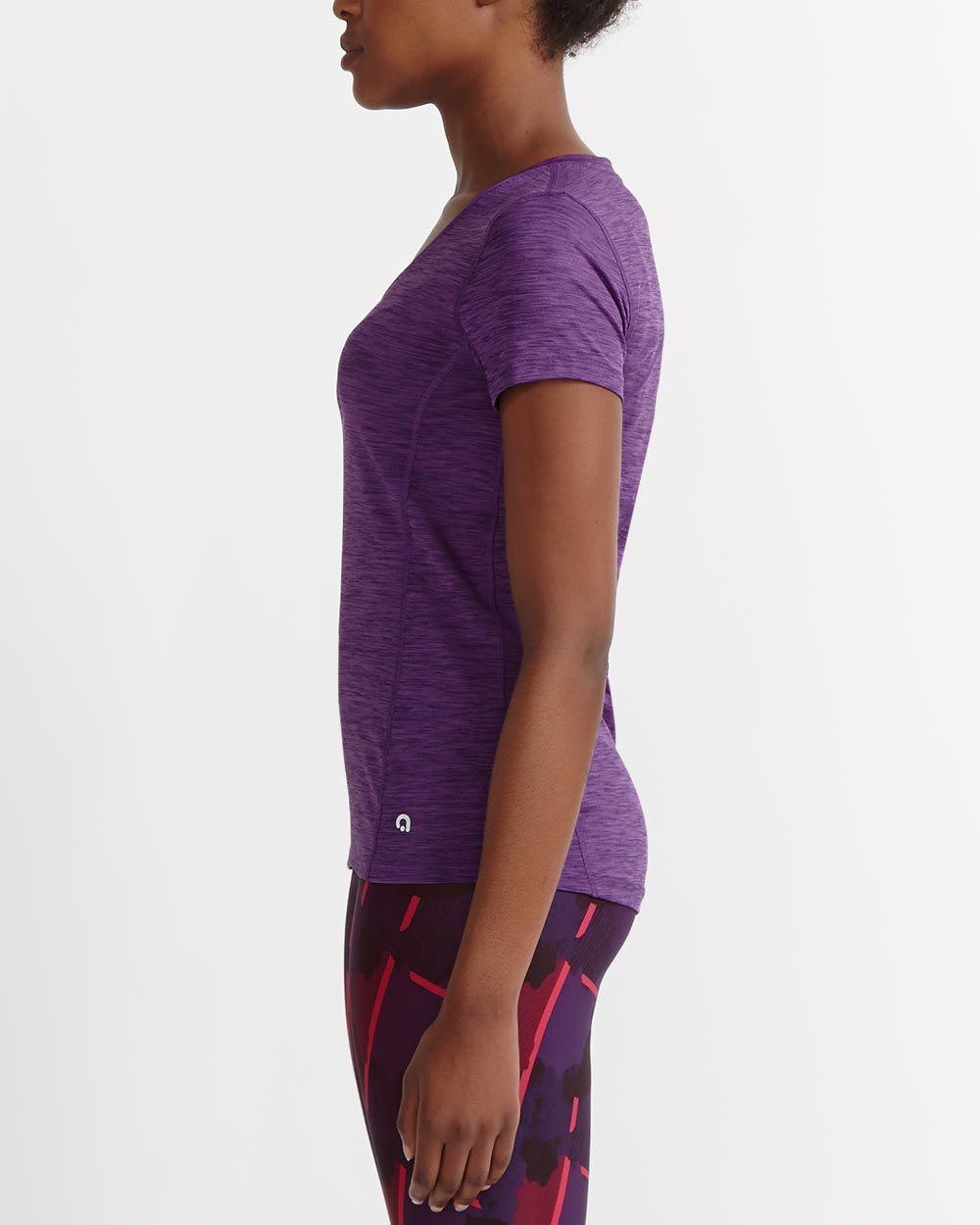 T-shirt à séchage rapide avec maille Hyba