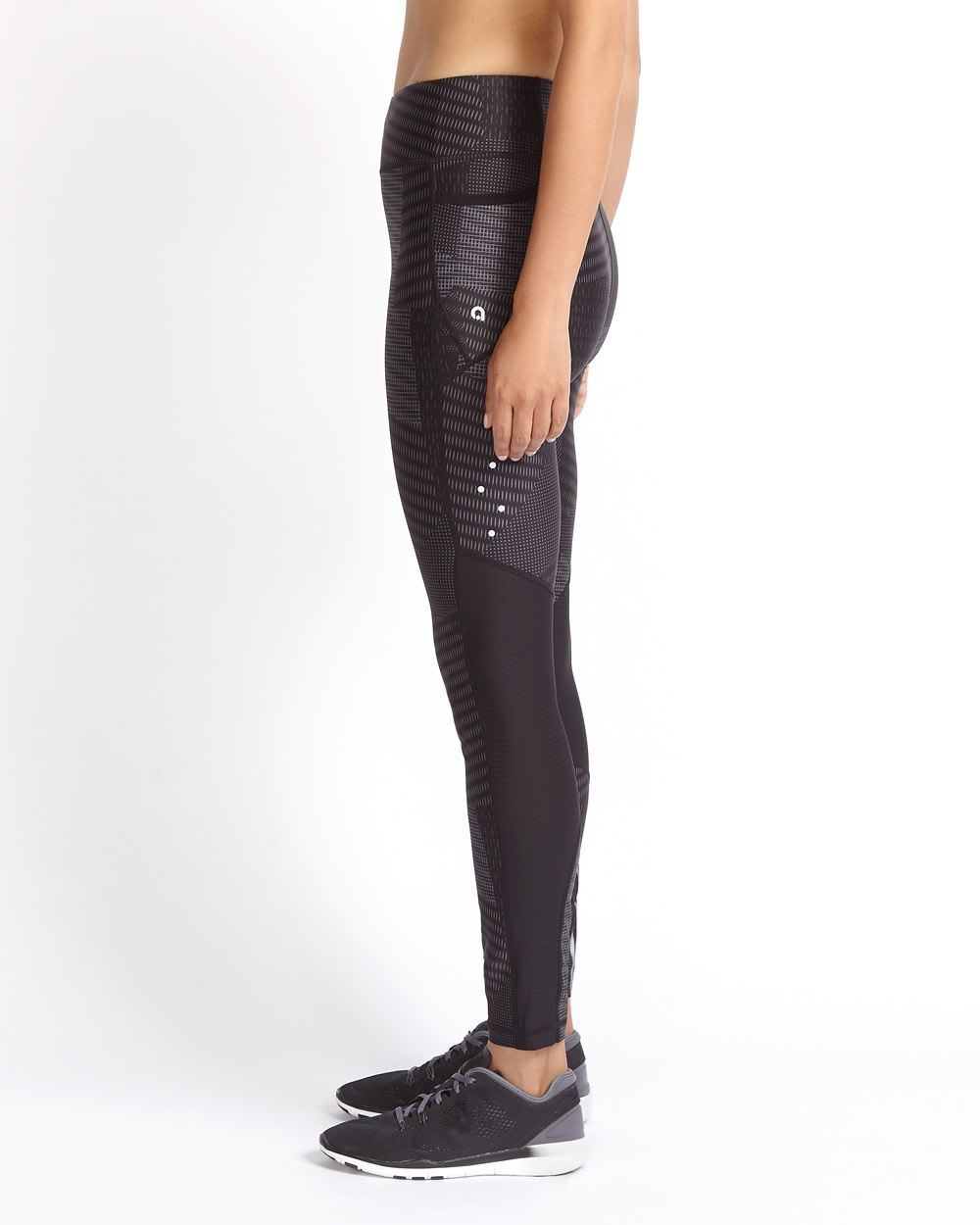Hyba Printed Mesh Legging