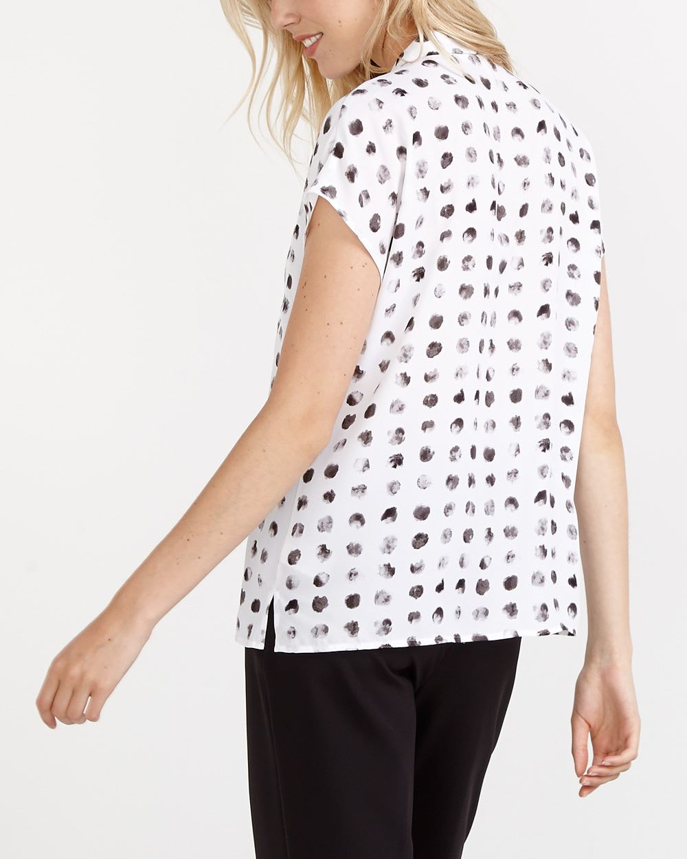 Willow & Thread Short Sleeve Printed Shirt