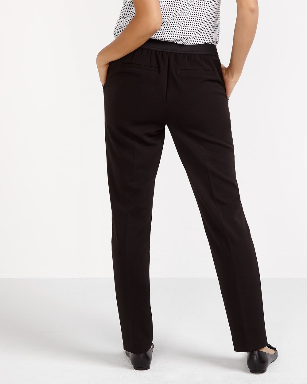 Pantalon à jambe droite