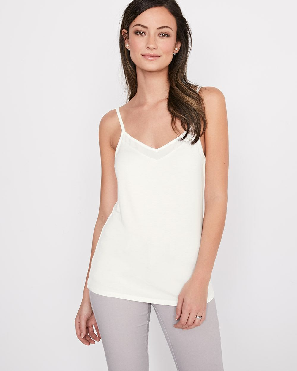 Cami with Adjustable Straps