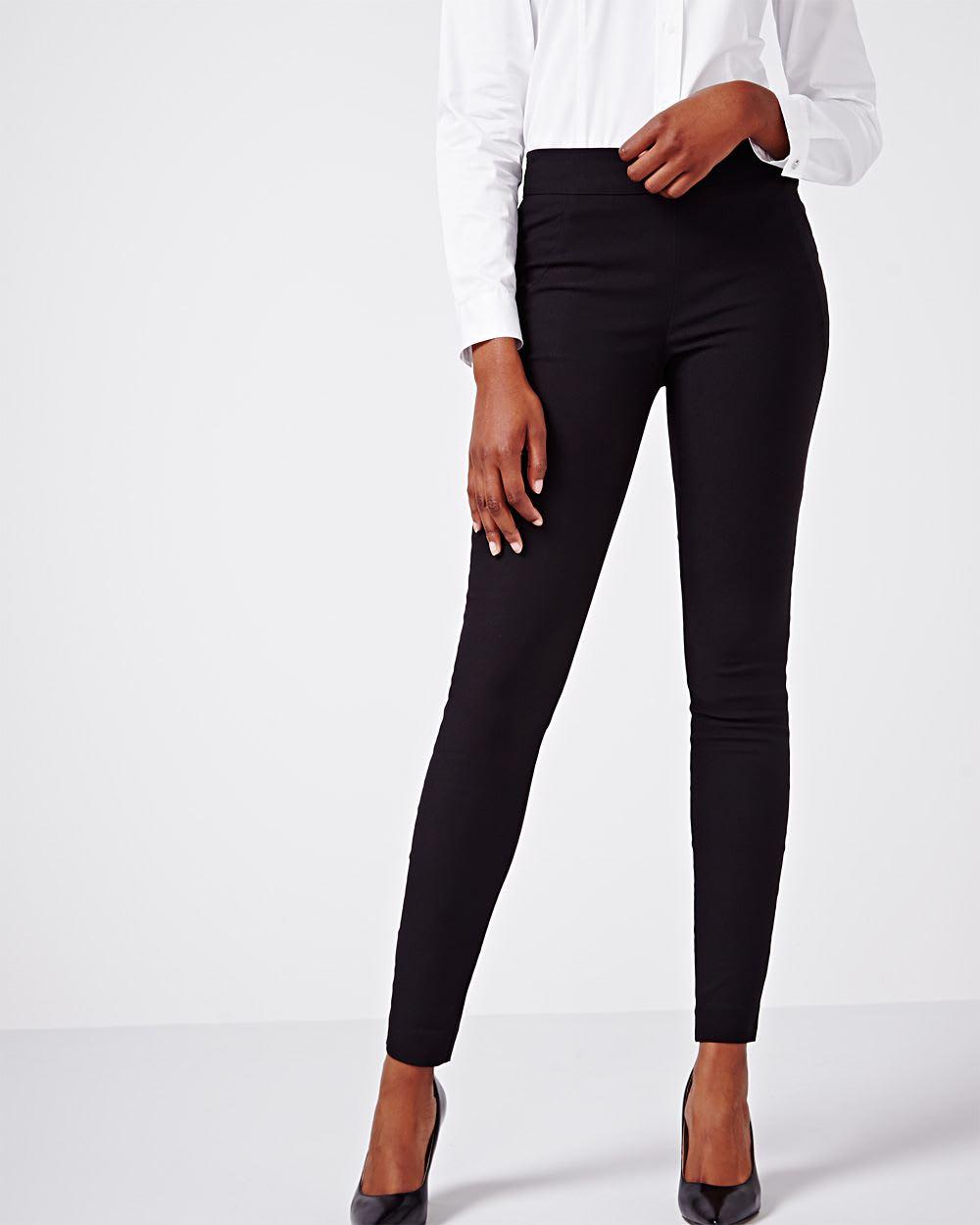 Modern Stretch Solid black legging