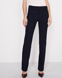 Pantalon coupe Signature à jambe légèrement évasée en tissu Moderne Chic