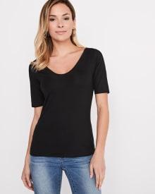 T-shirt à manches aux coudes