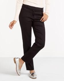 Pantalon skinny à motif losange