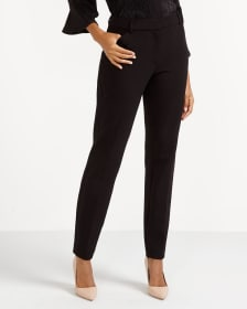 Petite Solid Skinny Pants