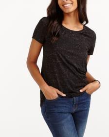 T-shirt à plis