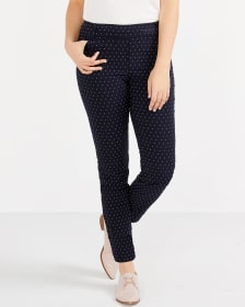 The Iconic Polka Dot Ankle Pants