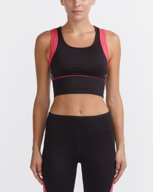 Hyba Training Mesh Crop Top