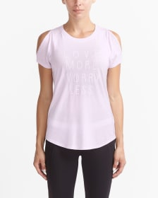 T-shirt graphique de yoga Hyba