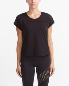 Hyba Cropped Training T-Shirt