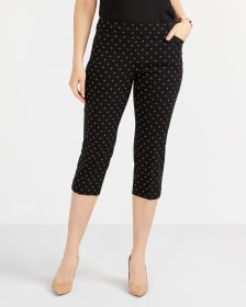 Pantalon capri imprimé L'Iconique