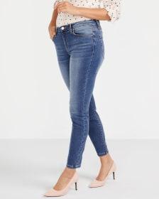 Le Jeans Sculptant skinny à la cheville Long