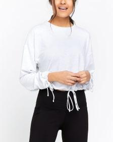 Hyba Drawstring Sweatshirt
