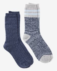 2-Pair Set of Marled Socks