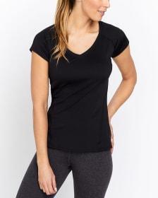 T-shirt essentiel avec col en V Hyba