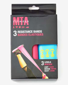 MTA Fitness 3-Level Resistance Bands