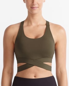 Hyba Wrap-Around Low-Impact Sports Bra