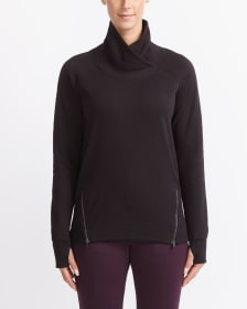 Hyba Crossover Neck Sweater