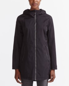 Hyba Hooded Raincoat