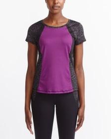 T-shirt d'entrainement à couleurs contrastantes Hyba