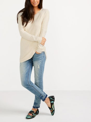 Long Sleeve Nursing Knit Tunic