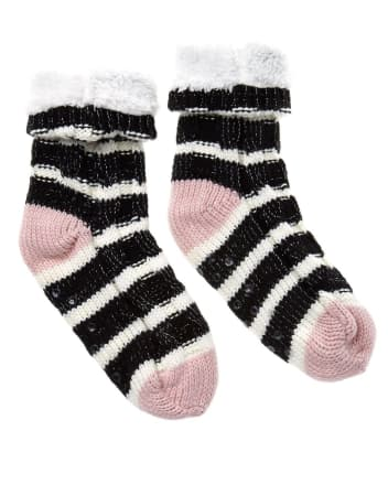 Striped Knit Socks