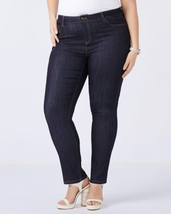 Straight Fit Straight Leg Jean - d/c JEANS