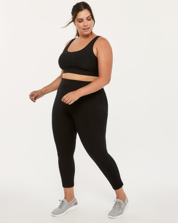 Plus-Size Basic 7/8 Legging - Essentials
