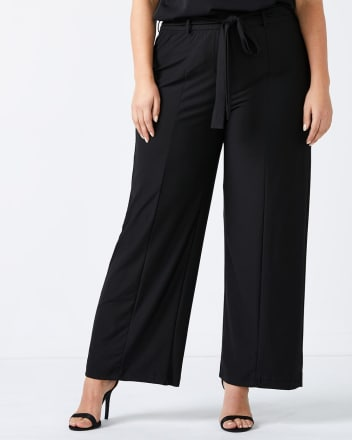 Wide Leg Pant With Belt - In Every Story
